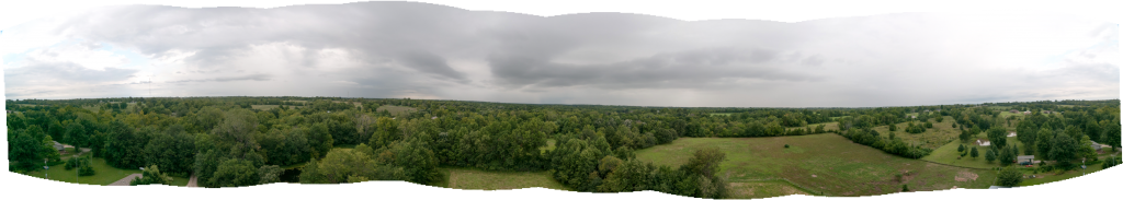 Panorama from 100ft AGL