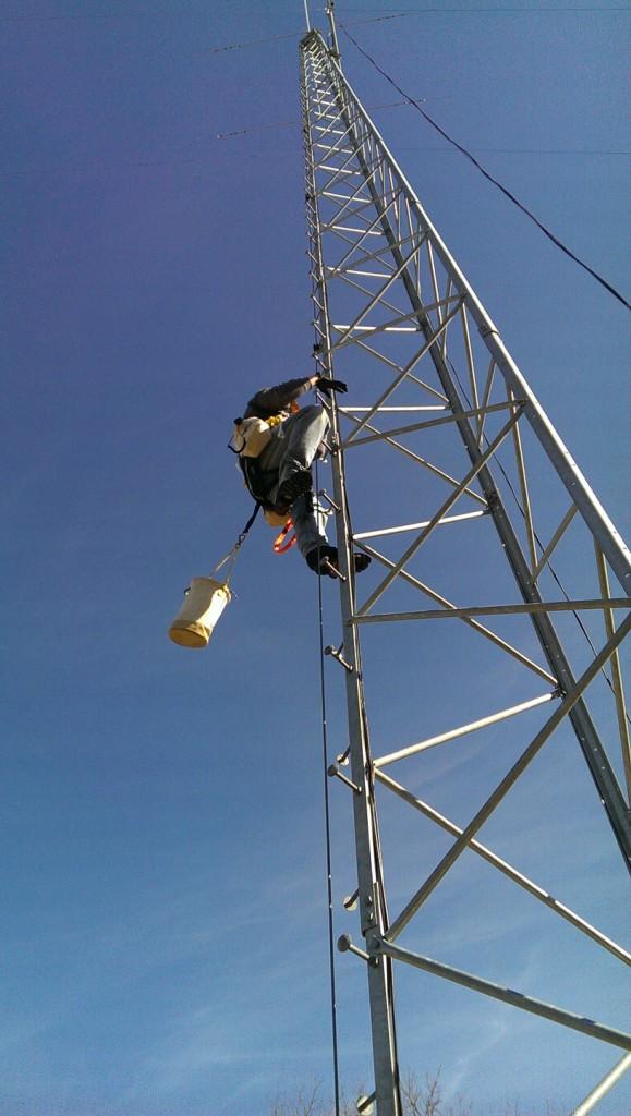 Up I go