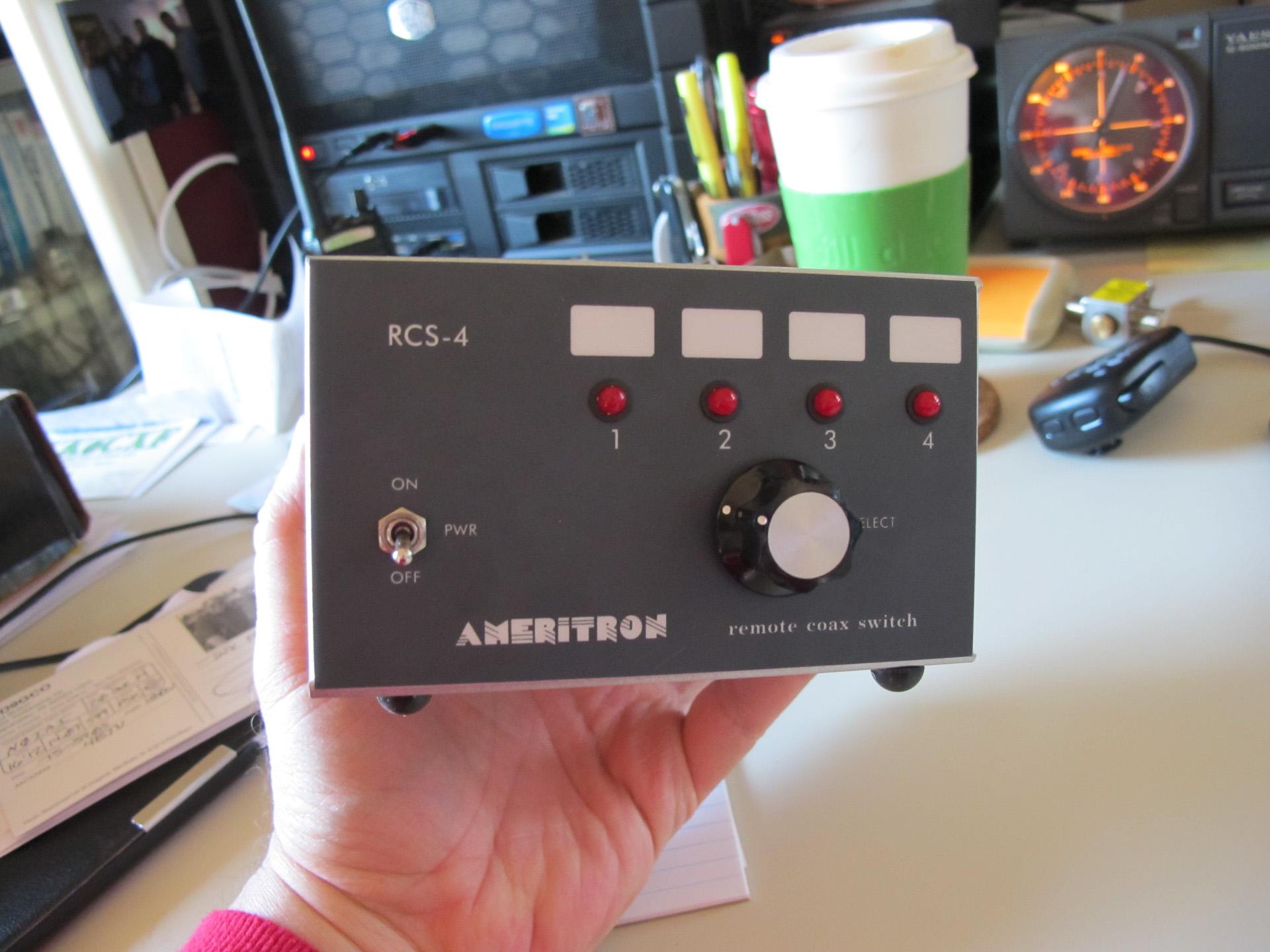 Ameritron RCS-4 Remote coax switch