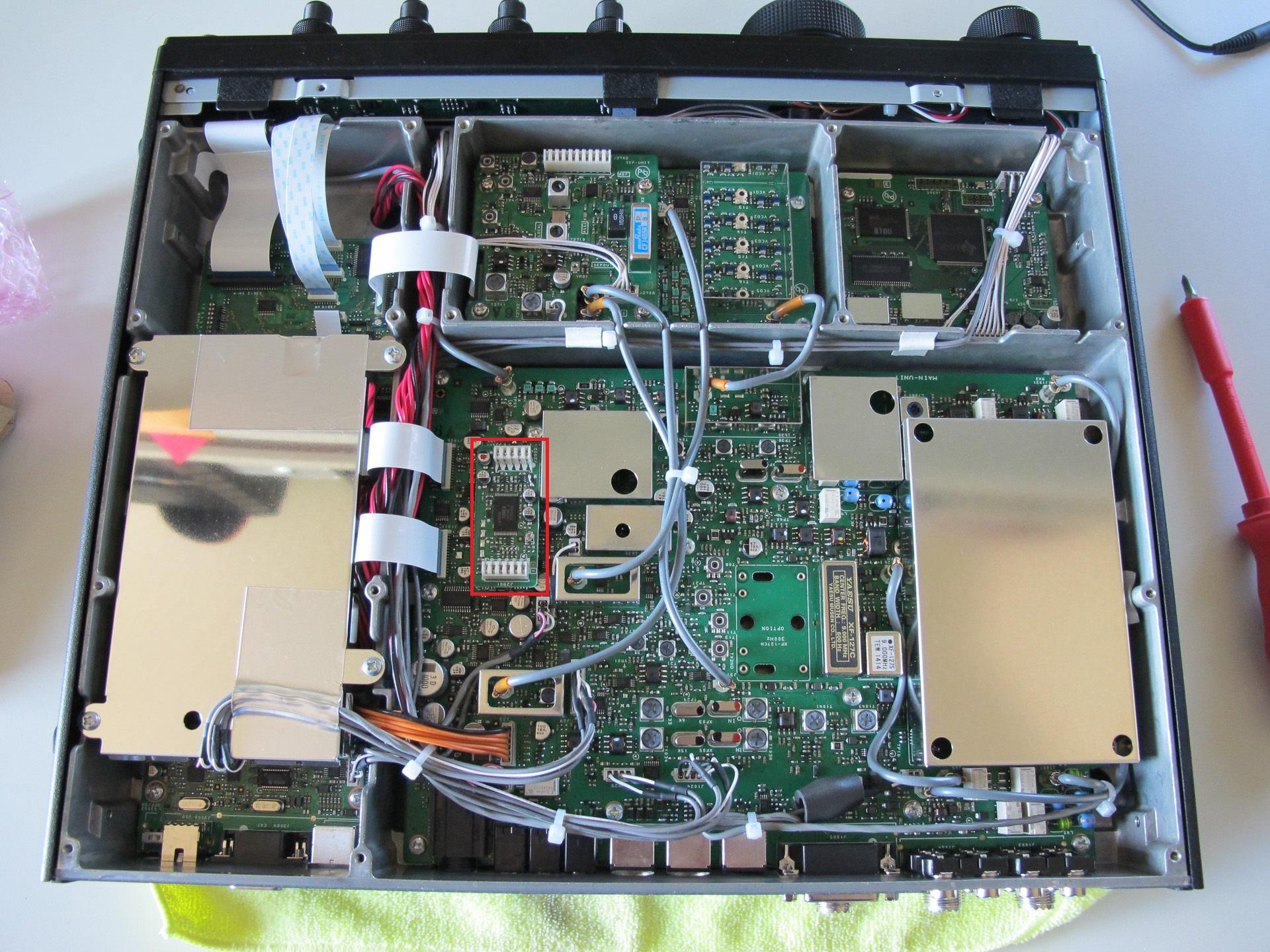 Yaesu ftdx3000 dvs 6 install for Ft 3000
