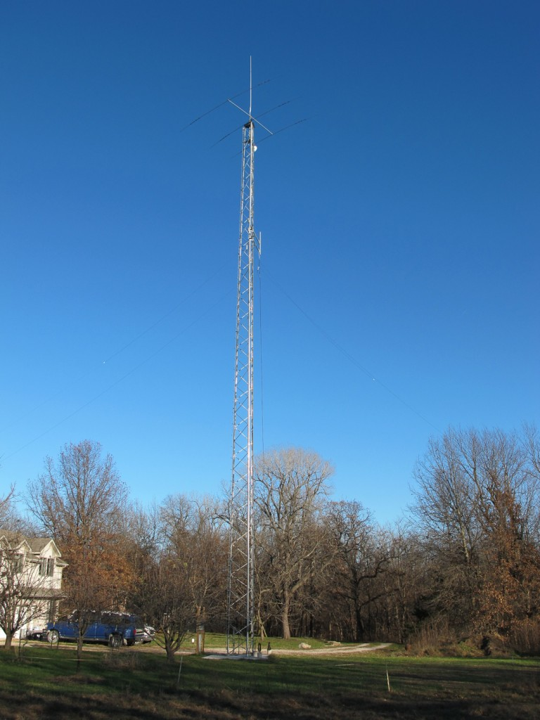 Pic of tower and repeater antenna.