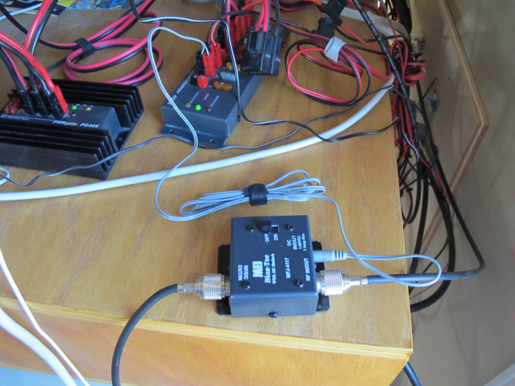 DC Injector, wired to the station DC bus one less wall wart